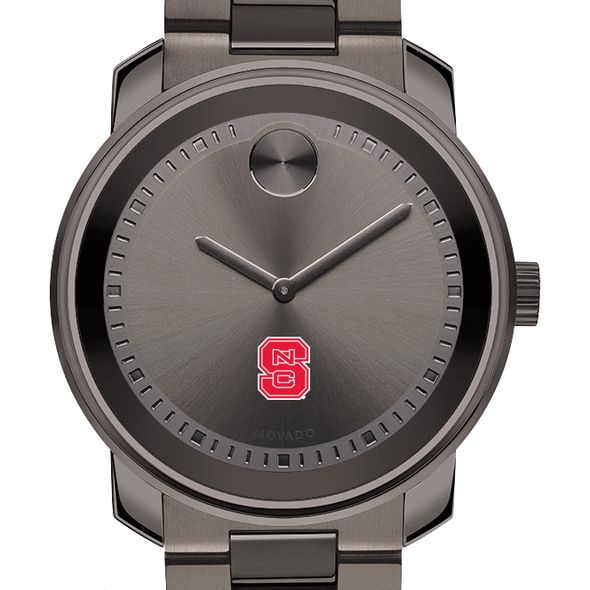 North Carolina State Men's Movado BOLD Gunmetal Grey