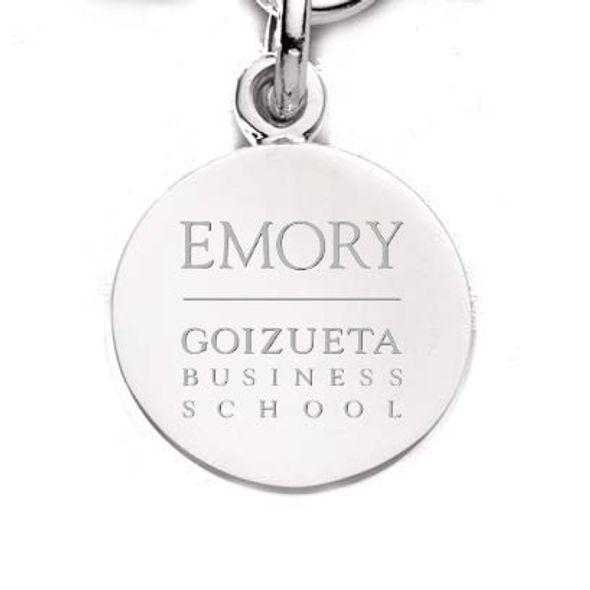 Emory Goizueta Sterling Silver Charm