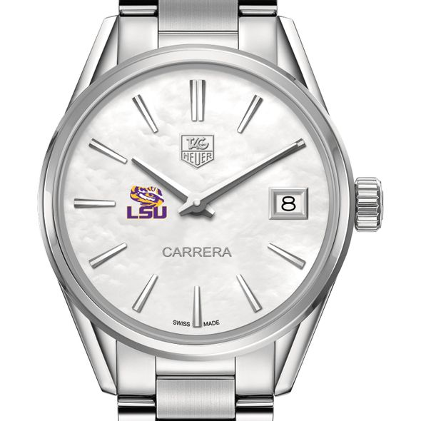 Louisiana State University Women's TAG Heuer Steel Carrera with MOP Dial