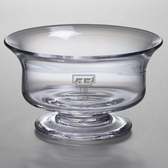 Texas Tech Simon Pearce Glass Revere Bowl Med