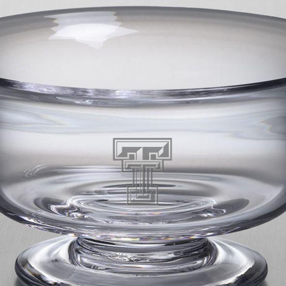 Texas Tech Simon Pearce Glass Revere Bowl Med - Image 2
