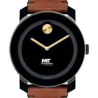MIT Sloan Men's Movado BOLD with Brown Leather Strap