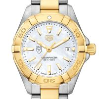 Emory University TAG Heuer Two-Tone Aquaracer for Women
