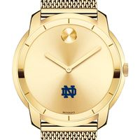 University of Notre Dame Men's Movado Gold Bold 44
