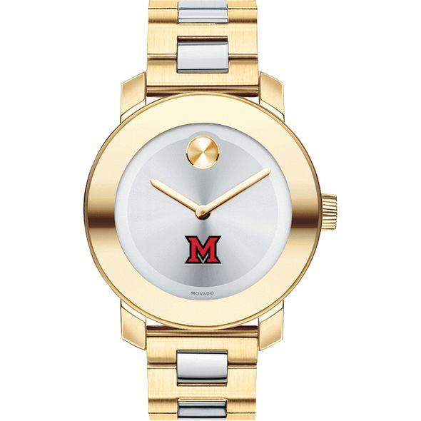 Miami University Women's Movado Two-Tone Bold - Image 2