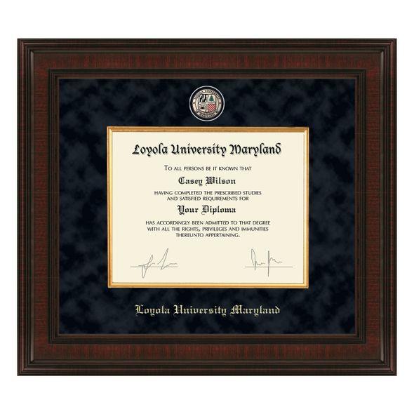 Loyola Diploma Frame - Excelsior - Image 1