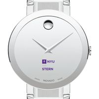 NYU Stern Men's Movado Sapphire Museum with Bracelet