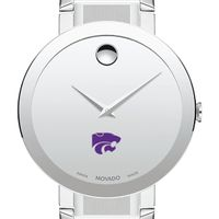 Kansas State University Men's Movado Sapphire Museum with Bracelet