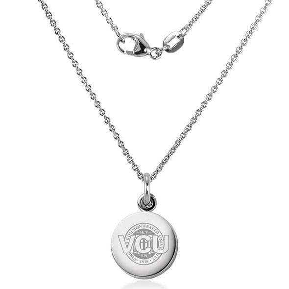 Virginia Commonwealth University Necklace with Charm in Sterling Silver - Image 2