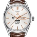 Chicago Booth Men's TAG Heuer Day/Date Carrera with Silver Dial & Strap - Image 1