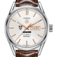 Chicago Booth Men's TAG Heuer Day/Date Carrera with Silver Dial & Strap