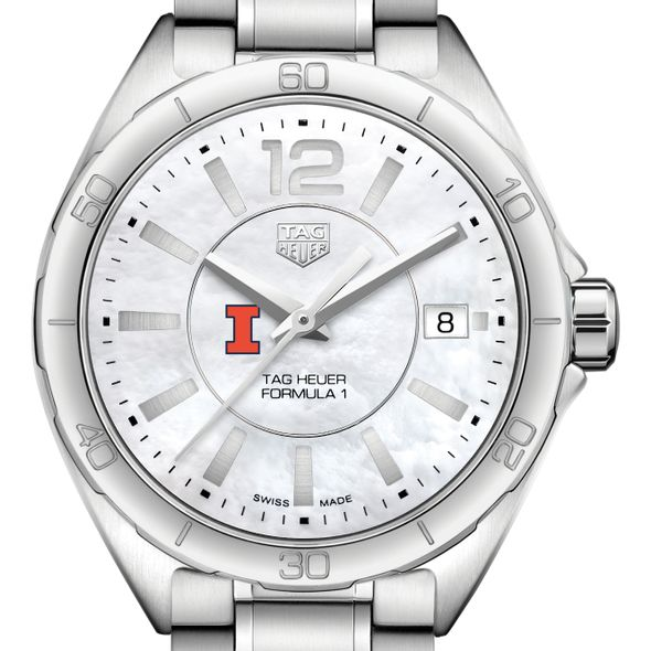 University of Illinois Women's TAG Heuer Formula 1 with MOP Dial