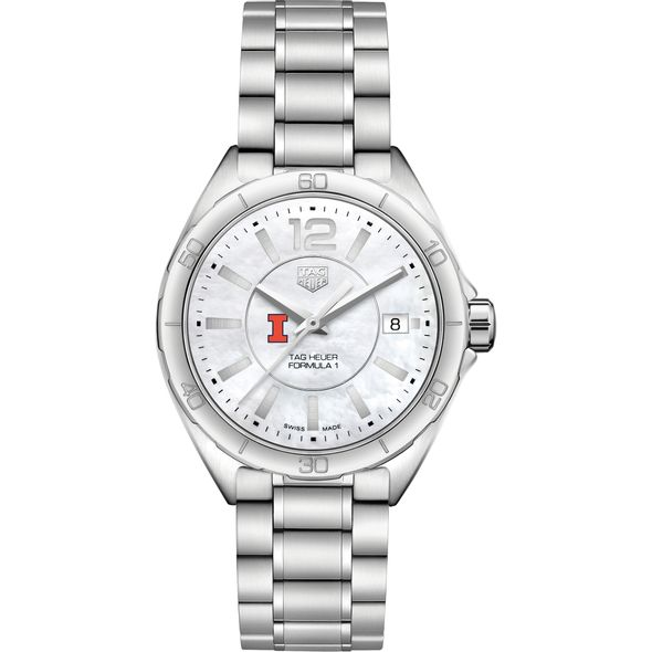 University of Illinois Women's TAG Heuer Formula 1 with MOP Dial - Image 2
