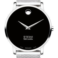 McCombs School of Business Men's Movado Museum with Mesh Bracelet