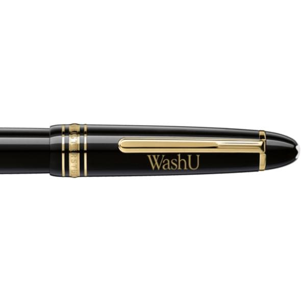 WUSTL Montblanc Meisterstück LeGrand Rollerball Pen in Gold - Image 2