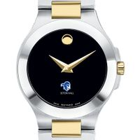 Seton Hall Women's Movado Collection Two-Tone Watch with Black Dial