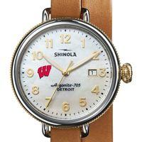 Wisconsin Shinola Watch, The Birdy 38mm MOP Dial