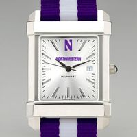 Northwestern University Collegiate Watch with NATO Strap for Men