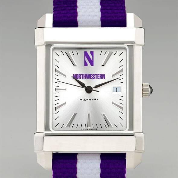 Northwestern University Collegiate Watch with NATO Strap for Men