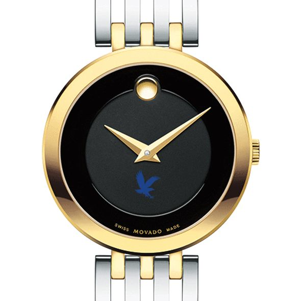 Embry-Riddle Women's Movado Esparanza Two-Tone Museum with Bracelet