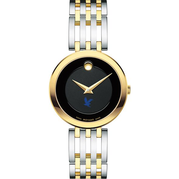 Embry-Riddle Women's Movado Esparanza Two-Tone Museum with Bracelet - Image 2