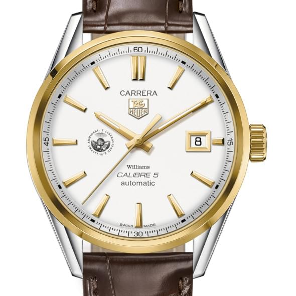 Williams College Men's TAG Heuer Two-Tone Carrera with Strap