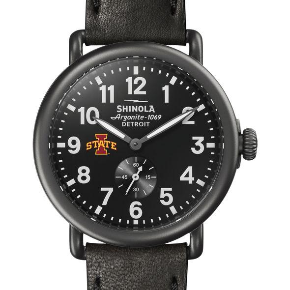 Iowa State Shinola Watch, The Runwell 41mm Black Dial