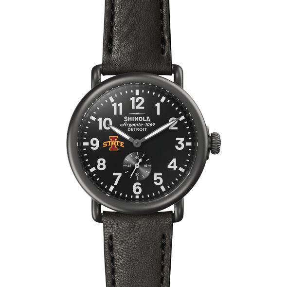 Iowa State Shinola Watch, The Runwell 41mm Black Dial - Image 2
