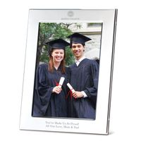 Boston College Polished Pewter 5x7 Picture Frame