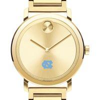 UNC Men's Movado Bold Gold with Bracelet