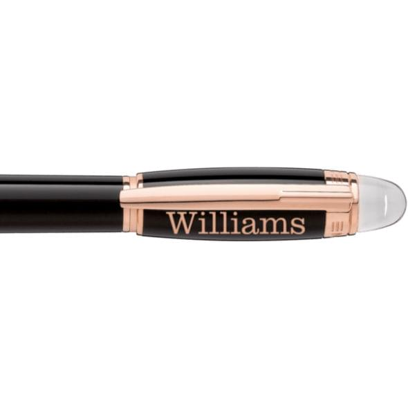 Williams College Montblanc StarWalker Fineliner Pen in Red Gold - Image 2