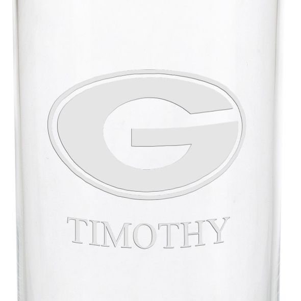 University of Georgia Iced Beverage Glasses - Set of 4 - Image 3