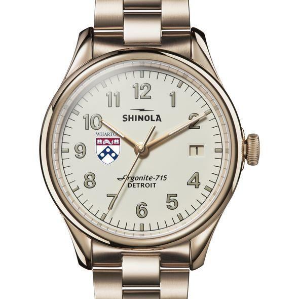 Wharton Shinola Watch, The Vinton 38mm Ivory Dial