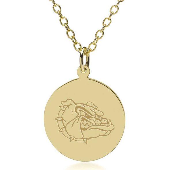 Gonzaga 14K Gold Pendant & Chain