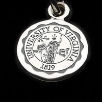 UVA Sterling Silver Charm