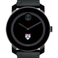 University of Pennsylvania Men's Movado BOLD with Leather Strap