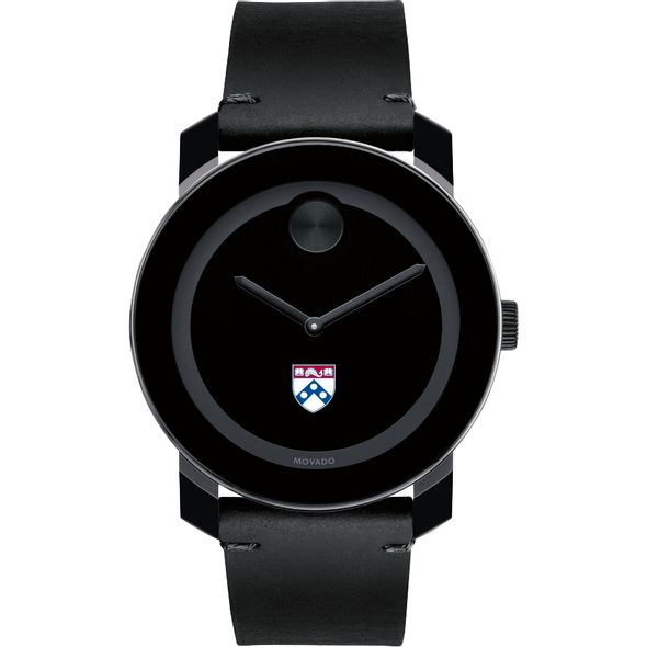 University of Pennsylvania Men's Movado BOLD with Leather Strap - Image 2