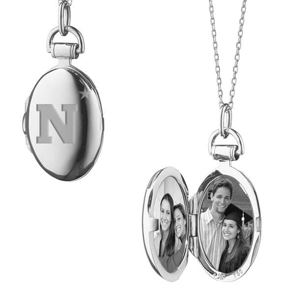 Naval Academy Monica Rich Kosann Petite Locket in Silver - Image 2