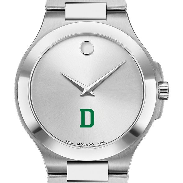 Dartmouth Men's Movado Collection Stainless Steel Watch with Silver Dial - Image 1