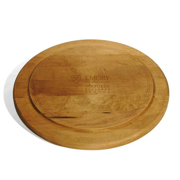 Emory Goizueta Round Bread Server