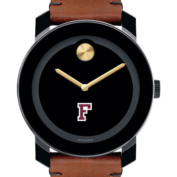 Fordham Men's Movado BOLD with Brown Leather Strap