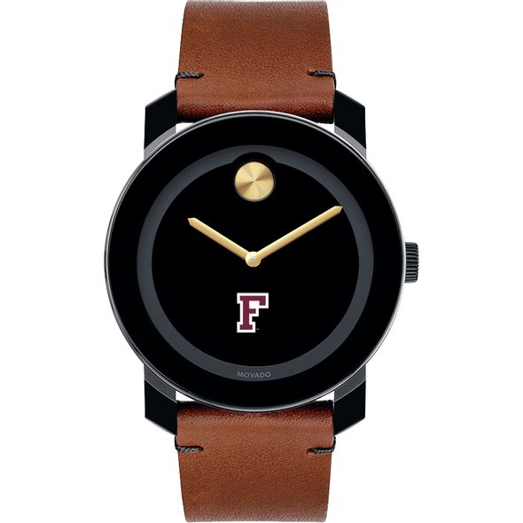 Fordham Men's Movado BOLD with Brown Leather Strap - Image 2