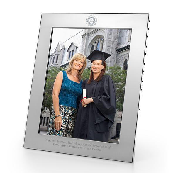 Syracuse University Polished Pewter 8x10 Picture Frame