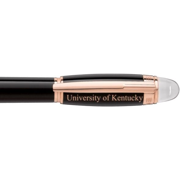 University of Kentucky Montblanc StarWalker Fineliner Pen in Red Gold - Image 2