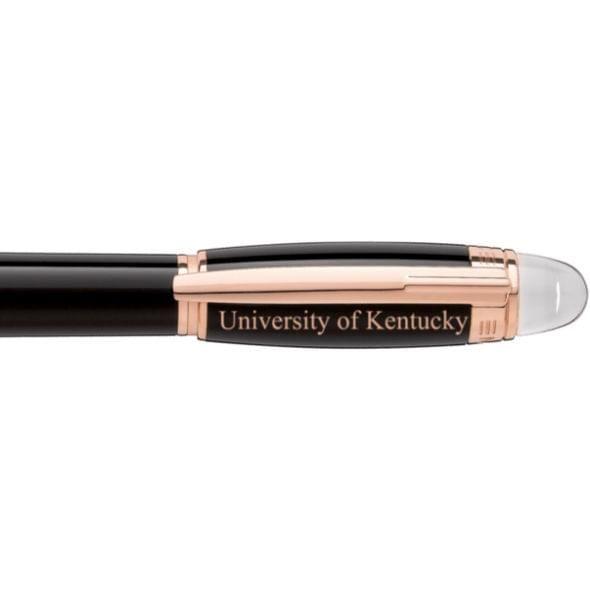 University of Kentucky Montblanc StarWalker Fineliner Pen in Red Gold - Image 2