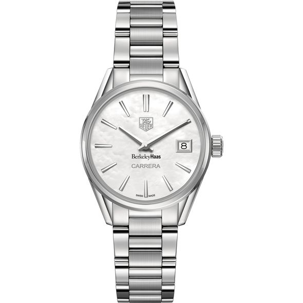 Berkeley Haas Women's TAG Heuer Steel Carrera with MOP Dial - Image 2