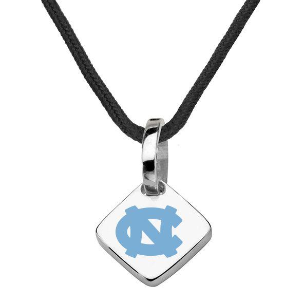 University of North Carolina Silk Necklace with Charm