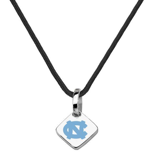 University of North Carolina Silk Necklace with Charm - Image 2