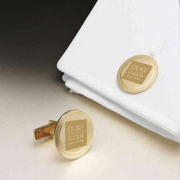 Duke Fuqua 18K Gold Cufflinks