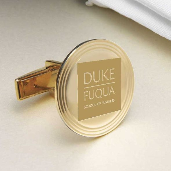 Duke Fuqua 18K Gold Cufflinks - Image 2